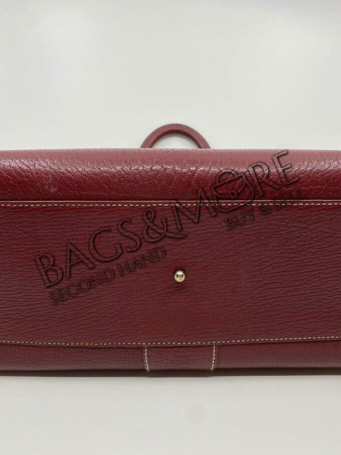 4 Delvaux.handtas brillant GM cricket rosso