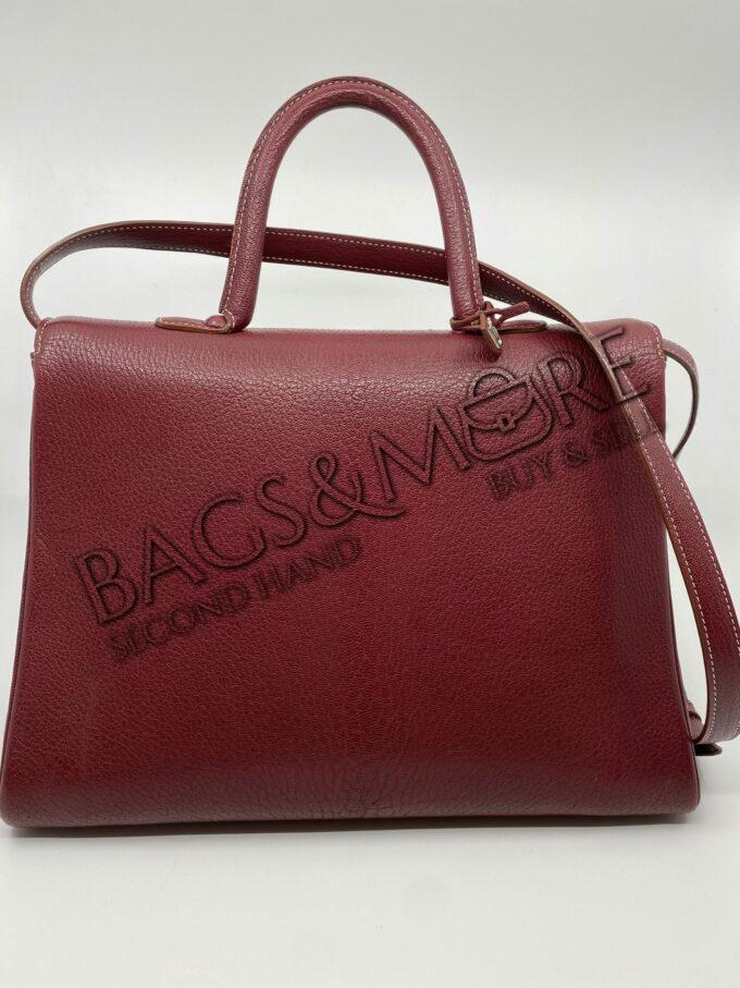 Delvaux handtas brillant GM cricket rosso