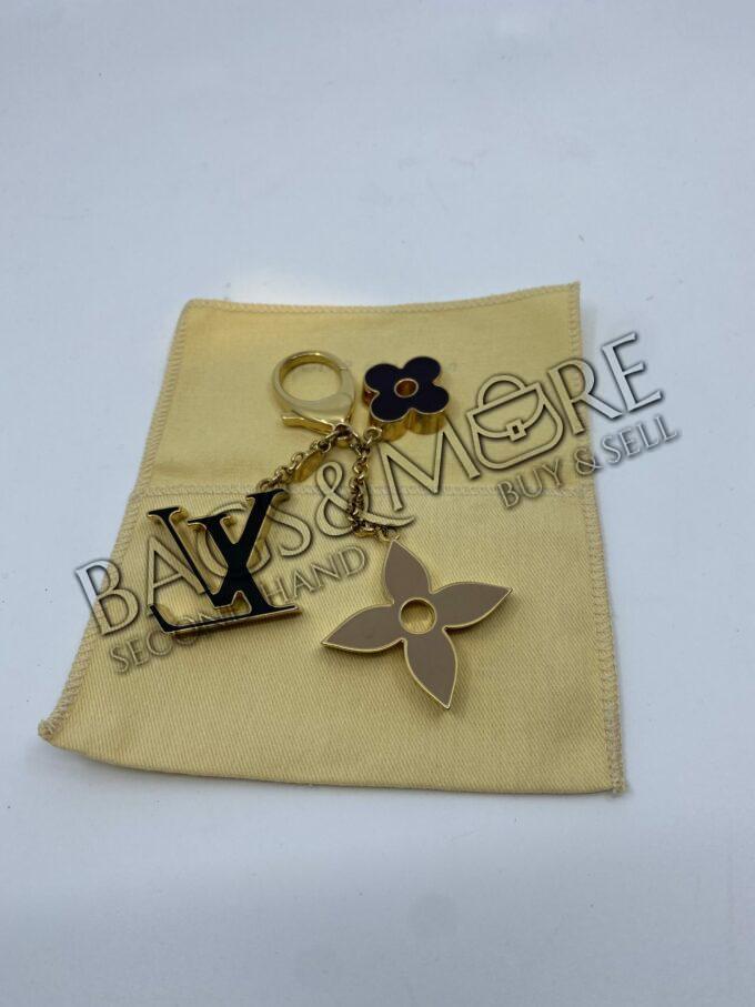 Louis Vuitton Bag Charm taupe-zwart