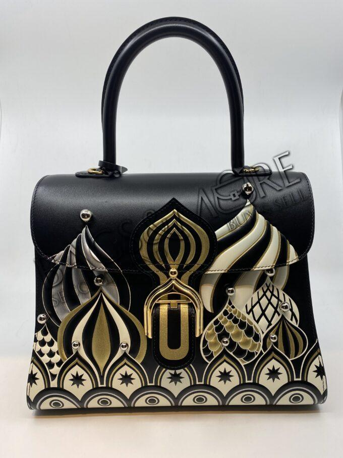 Delvaux Brillant MM s Bolshoi noir-or