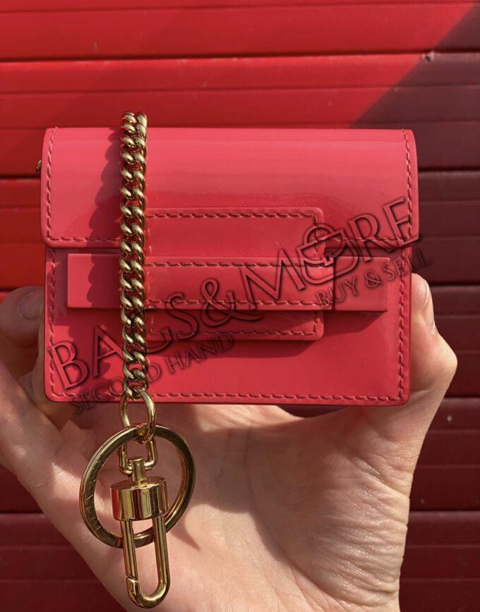 Delvaux bag charm pink